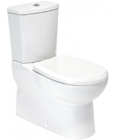 Orca Multi Outlet Fully Shrouded Toilet with Soft Close Seat
