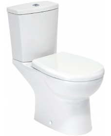 Orca Close Coupled Toilet with Soft Close Seat