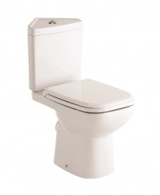 Origin 62 Corner Toilet and Soft Close Seat
