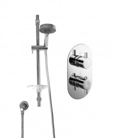 ORION Dual Shower Valve & Marine Slide Rail Kit