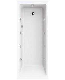 Oscar Single Ended 1800x800 8 Jet Whirlpool Bath