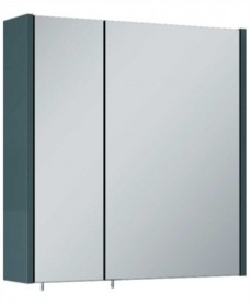 Otto Plus Gloss Grey 60 Mirror Cabinet