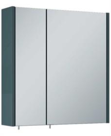 Otto Plus Gloss Grey 60 Mirror Cabinet