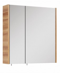 Otto Plus Walnut 60 Mirror Cabinet
