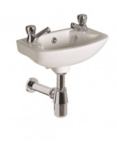 Strata 360 Cloakroom Basin 2TH