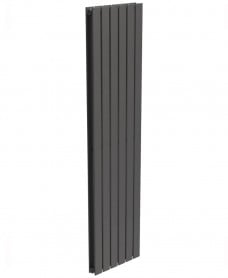 Piatto Flat Tube Designer Radiator Vertical 1800 x 456 Double Panel Anthracite