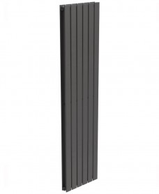 Piatto Flat Tube Designer Radiator Vertical 1800 x 456 Double Panel Anthracite