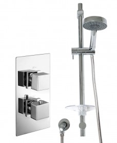 PICTOR Dual Shower Valve & Marine Slide Rail Kit