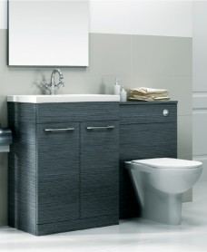 Porto Combo Grey - Special Offer* - includes E100 toilet, choice of tap & waste