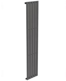 Piatto Flat Tube Designer Radiator Vertical 1800 x 376 Single Panel Anthracite