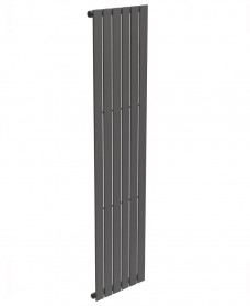 Piatto Flat Tube Designer Radiator Vertical 1800 x 452 Single Panel Anthracite