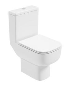 Rubix Close Coupled WC c/w Gamma Slim Seat