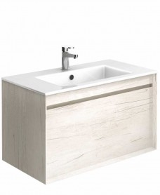 Reflex Light Wood 80 Vanity Unit