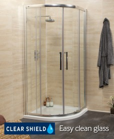 Revive 1000 Quadrant Shower Enclosure - Adjustment 950mm-980mm - *50% Off While Stocks Last