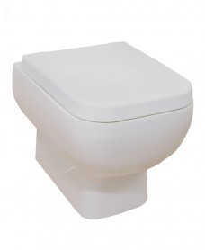 Series 600 Wall Hung Toilet & Soft Close Seat - Short Projection - 520mm