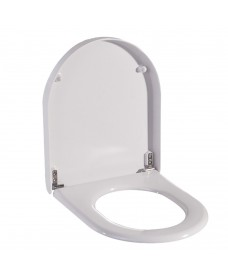 Heavy Duty Seat & Cover White for Stainless Steel Pans