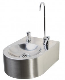 Jonzac Drinking Fountain Wall Mounted