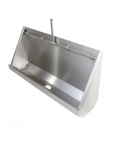 Fife Trough Urinal Exposed Pipework 1800mm LH Outlet