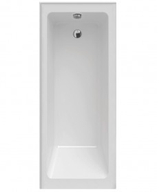 Piazza Single Ended 1700 x 700 Right Handed Bath With Upstands