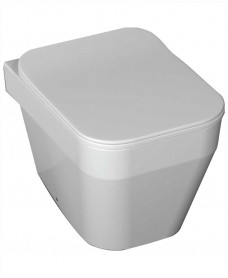 Sott'Aqua Wall Hung Toilet with soft close seat