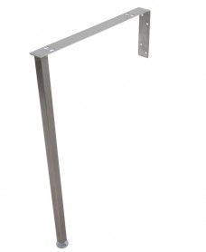 Stainless Steel Legs & Bearer Bracket Single