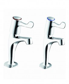Sola High Neck Lever Action Basin Taps