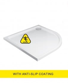 Kristal Low Profile 1200X800 Quadrant RH Shower Tray -Anti Slip  with FREE shower waste