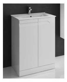 Brava White Floor unit with Toledo Basin with Nena Basin Mono - *Special Offer