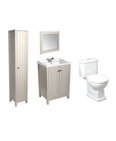 Kingston Stone Pack including Tall Storage Unit - Special Offer