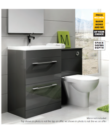 Otto Plus Gloss Grey - Strata - *Special Offer