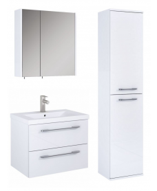 Otto Plus Gloss White Wall hung unit furniture pack  - *Special Offer