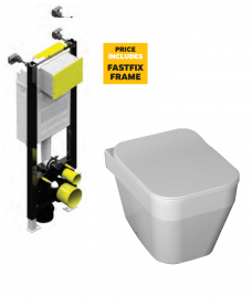 Sott'Aqua wc with Fastfix frame  - *Special Offer