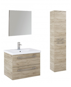 Otto Plus Craft Oak Wall hung unit furniture pack - *Special Offer