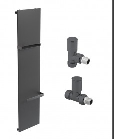 Synergy 1820 Anthracite Heated Towel Rail - Special Offer