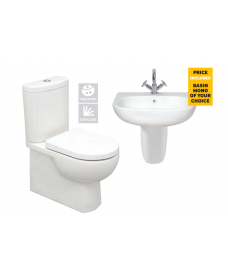 Tonique En-Suite-Semi Pedestal - *Special Offer
