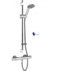 Coolflow Safe Touch Thermostatic Bar Shower