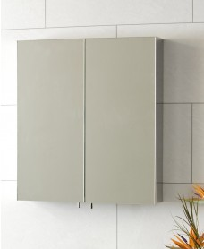 Stilo Double Door Mirror Cabinet 600 x 670