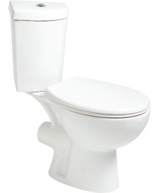 Strata Close Coupled Corner Toilet and Seat