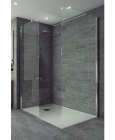 Studio 8mm Wetroom Front Panel 1000