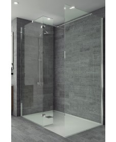 Studio 8mm Wetroom Fixed Return Panel