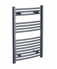 Straight Heated Rail 800X500 Anthracite - *Special Offer