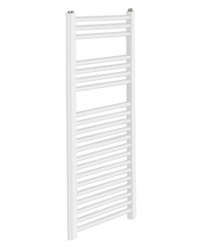 Sonas 1200 x 600 Straight Towel Rail - White