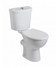 Strata Comfort Height Close Coupled Corner Toilet and Seat
