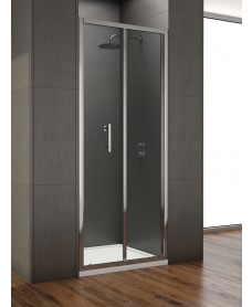 Style 1000mm Bi-fold Shower Door -  Adjustment 950 -990mm