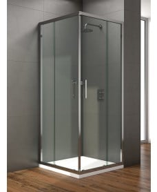 Style 900mm Corner Entry Shower Door - Adjustment 860 - 880mm