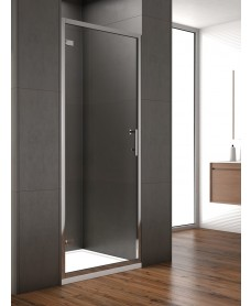 Style 900mm Hinged Shower Door - Adjustment 850 - 890mm