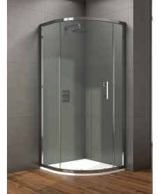 Style 900mm Single Door Quadrant Enclosure - Adjustment 860 - 880mm