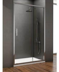 Style 1400mm Sliding Shower Door - Adjustment 1350 - 1390mm
