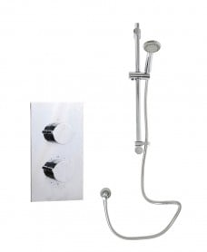 Tristan Rectangle Thermostatic Shower Kit G