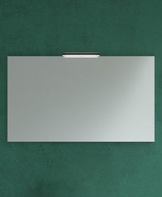 1000mm x 700mm Mirror & Veronica Black Light